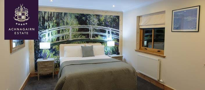 £79 for an Overnight Getaway in Superior Bedroom in Luxury Lodge