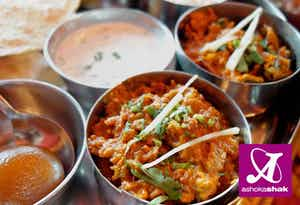 £6 for a 3 Course Thali Lunch for 2