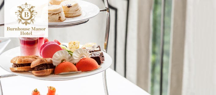 £55 for an Overnight Getaway + Afternoon Tea & Bubbly for 2