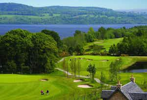 £99 for 18 Holes on The Carrick + Golfer's High Tea for 2 at Cameron House