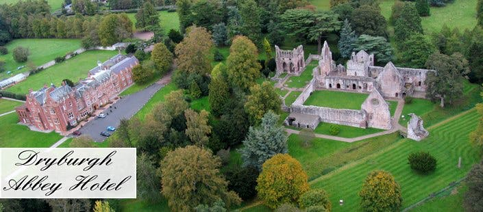 £99 for an Overnight DB&B Stay at the 4* Dryburgh Abbey Hotel for 2