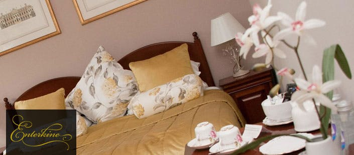£95 for an Overnight Stay in Kirk House + Dinner for 2