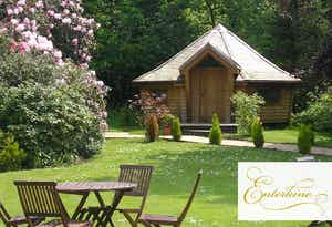 £95 for an Overnight Getaway in Woodland Lodge for 2
