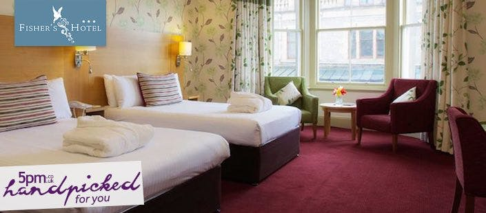 £119 for an Overnight Getaway + Wine, Dinner & Dram for 2