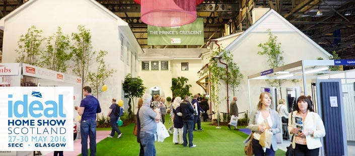 £15 for 2 x Tickets to Ideal Home Show Scotland at SECC