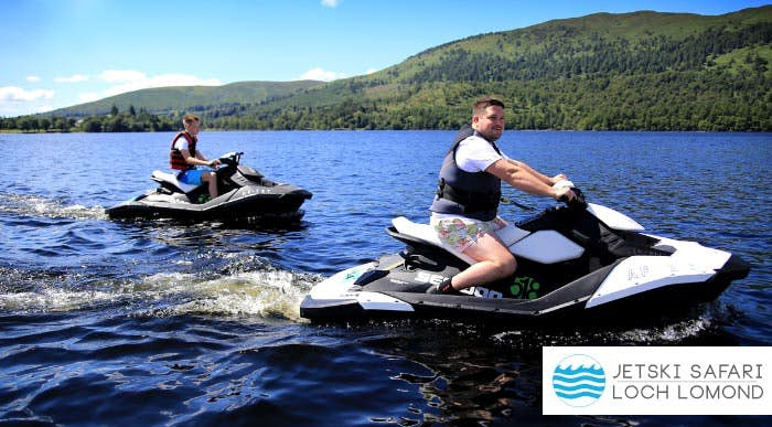 £39 for a Jetski + Inflatable Fun Ride Experience