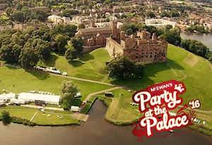 £45 for a Day Ticket on Sunday 14th August at McEwan's Party At The Palace