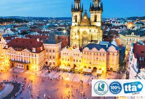 £299 for 4 Nights in Prague with Return Flights - Low Deposit Required
