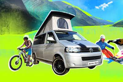 £257 for a 4 Night Getaway in T5 VW Campervan for up to 4