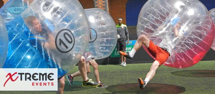 £159 for a Zorb Football Session for up to 15 Players