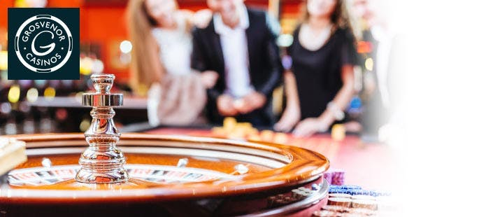 £15 for a Dinner, Fizz + Casino Experience