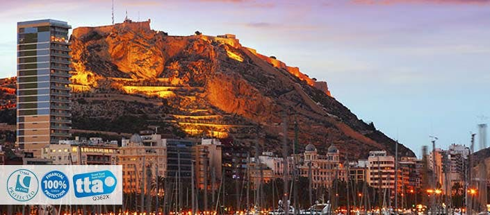 £199 for 3 Nights in Alicante with Return Flights - Low Deposit Required