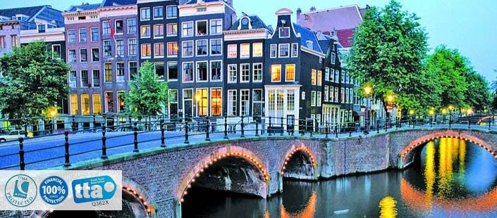 £249 for 3 Nights in Amsterdam with Return Flights - Low Deposit Required