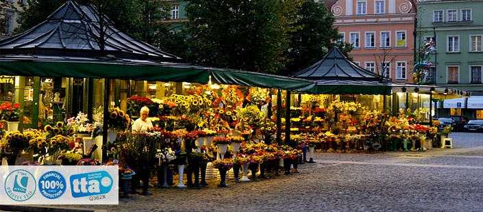 £299 for 3 Nights in Wroclaw with Return Flights - Low Deposit Required
