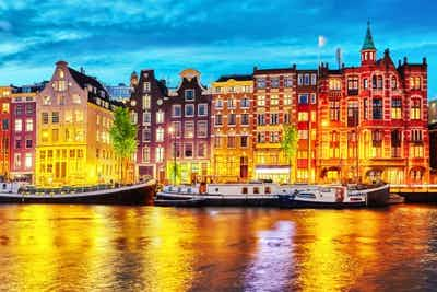 £290 for 3 Nights Stay in Amsterdam with Return Flights - Low Deposit Required