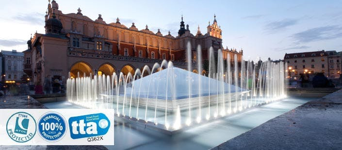 £200 for 3 Nights in Krakow with Return Flights - Low Deposit Required