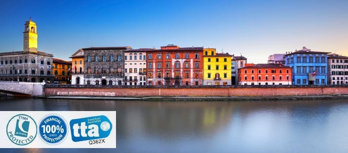 £250 for 3 Nights in Pisa with Return Flights - Low Deposit Required