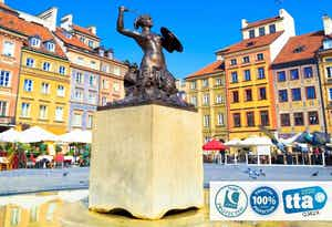 £250 for 3 Nights in Warsaw with Return Flights - Low Deposit Required