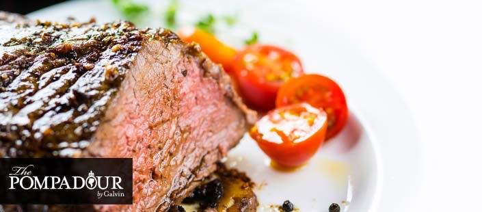 £55 for Chateaubriand Steak + Bottle of Wine for 2