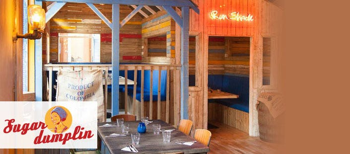 £100 for a 3 Course Caribbean Meal in a Semi-Private Shack for 6