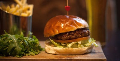 £10 for a Speciality Burger or Dog for 2