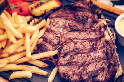 £17 for a Steak Frites Lunch for 2