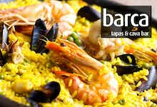 £16 for Paella + Wine for 2