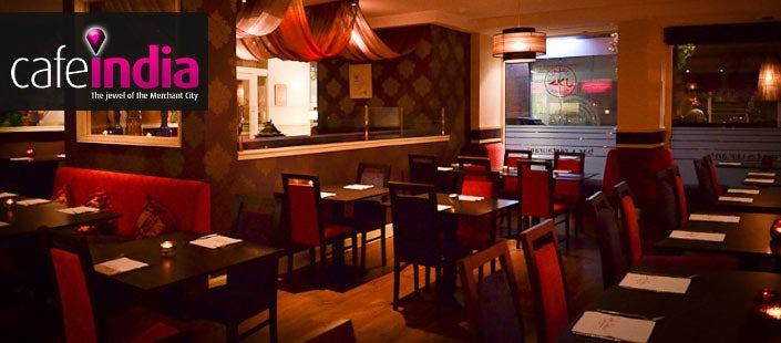 Cafe India Glasgow Christmas Menu