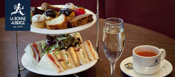£22.95 for an Afternoon Tea + Fizz for 2