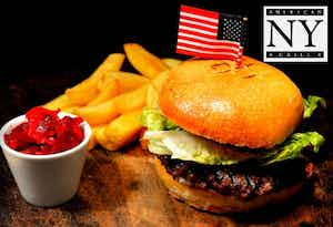 £16 for a Classic Burger or NY Hot Dog + Knickerbocker for 2