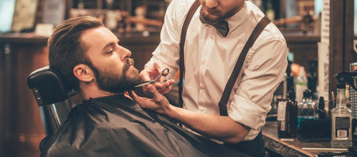 £10 for a Gents' Haircut + Hot Towel Shave & Facial Mask