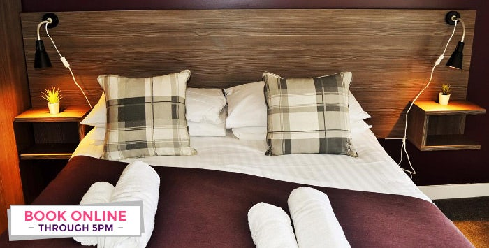1 or 2 Night Stay with Breakfast + Option of Dinner for 2; from £39
