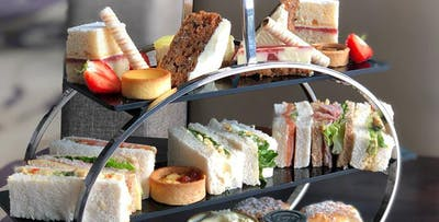 £15 for Afternoon Tea for 2 with Unlimited Tea or Coffee