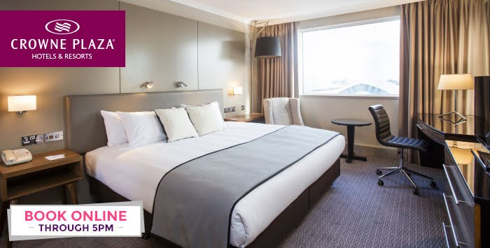 Overnight Stay with Breakfast & Option of Dinner for 2; from £79