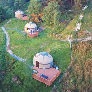 Photo of Glamping Yurts at Kelburn Castle & Estate