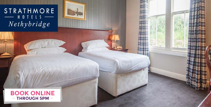1 or 2 Night Stay with Dinner on 1st Night + Bottle of Wine for 2, from £79