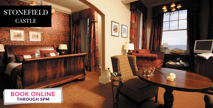 1 or 2 Night Stay + Wine & Dinner Option for 2, from £79
