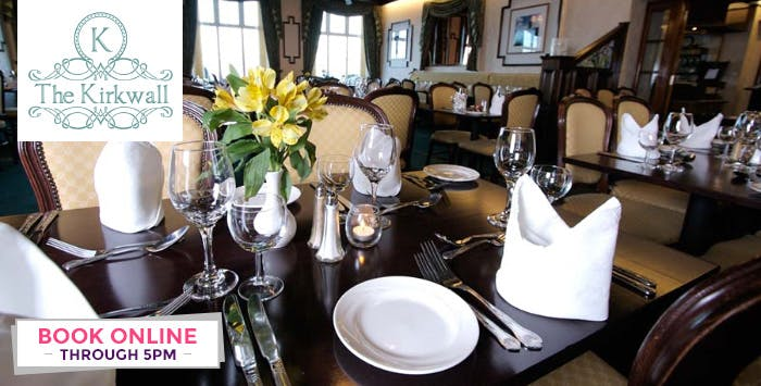 1, 2 or 3 Night B&B Stay with Option of Dinner for 2, from £49