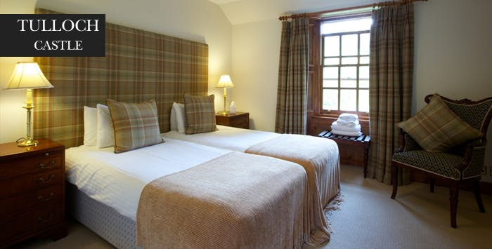 1 or 2 Night Stay + Dinner & Wine for 2, from £89