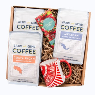 Holly Jolly Coffee Gift Box
