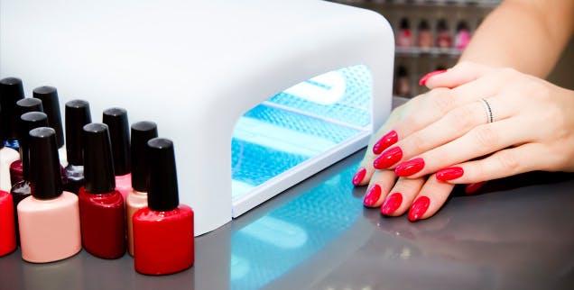 acrylic nails deals glasgow