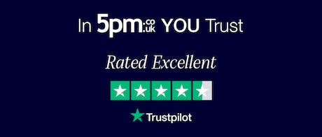 In 5pm YOU Trust - Rated Excellent on Trustpilot