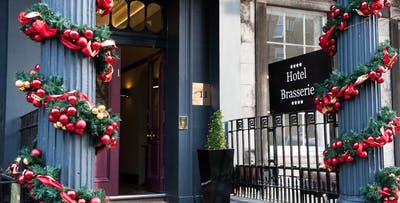 £24 for a 2 Course Festive Dinner for 2