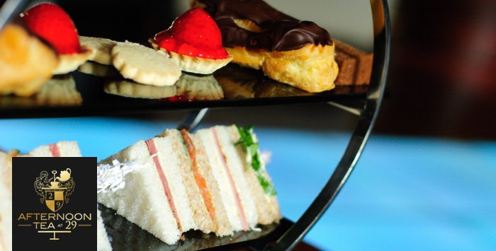 £24 for Luxury Afternoon Tea + G'n'T for 2