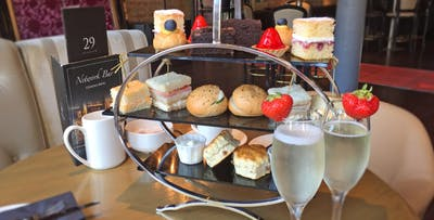 Luxury Afternoon Tea with Prosecco or G&T for 2; from £19