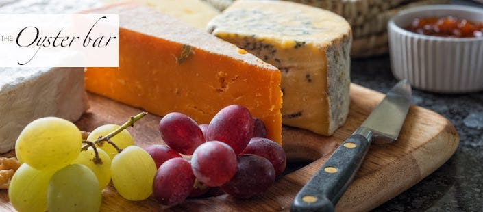 £15 for a Cheeseboard + 2 Glasses of Red or White Wine Each for 2