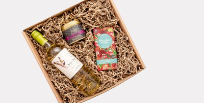 Wine Gift Box + optional 5pm Gift Voucher, from £21.99