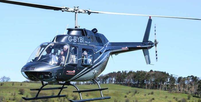 Glasgow Helicopter Tour  5pmuk
