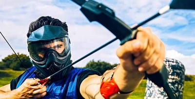 Combat Archery Experience for 6, 8 or 12 People; from £89