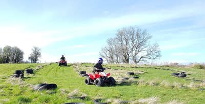 30 Minute or Hour Quad Biking Session for up to 2 Adults with up to 2 Juniors, from £49